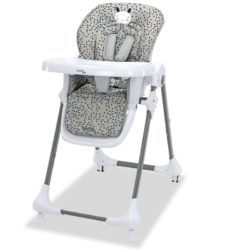 High Chair with Wheels